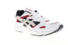 Asics Gel Diablo HY7H1-100 Mens White Mesh Low Top Lifestyle Sneakers Shoes