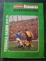 Sportecho Fuwo Sonderausgabe 1978/79 DDR Oberliga FCM BFC FCK Dynamo Dresden FCC