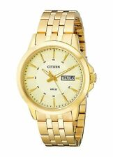 Citizen Mens BF2013-56P Gold-Tone Stainless Steel Bracelet Watch