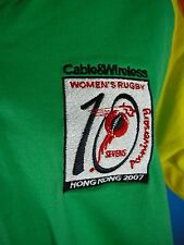 Rugby Shirt 2007 Sevens Anniversary 10 Years Hong Kong Large NWOT Women's Rugby
