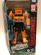 Transformers Earthrise War for Cybertron GRAPPLE Voyager Class Complete