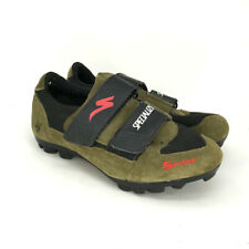 Specialized Sport Men's Mountain Bike Shoes Size 39 Suede Olive Green Cycling