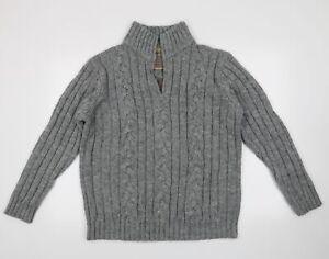 north coast Mens Grey   Pullover Jumper Size L