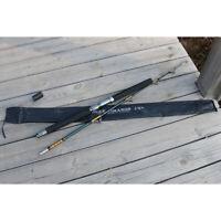 "SALTWATER FISHING ROD 20-40 lb Trolling Fishing Rod 5'6"" Roller Guides 2-Piece"