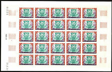 Algeria 1967 Winter Olympic Games ( Grenoble ) #380/1- Imperforate Sheets of 25