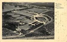Nürnberg Stadion fliegeraufnahme Germany Olympics? Stadium 1936 Vintage Postcard