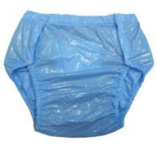 Capi d'abbigliamento erotico blu PVC