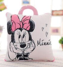 disney Minnie  print plush Summer quilt  Blankets zip cushion pillow UQ03 FOLD