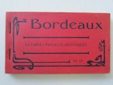 FRANCE BORDEAUX POST CARD BOOK 1918 MINT
