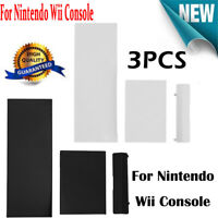 3pcs Memory Card Door Slot Cover Lids Replacement for Nintendo Wii Console Game