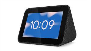 Lenovo Smart Clock mit Google Assistant - Schwarz