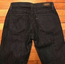 Levis 524 Women's Size 7 Too Superlow Dark Blue Jeans Free Shipping