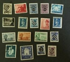 Croatia, small lot of old stamps