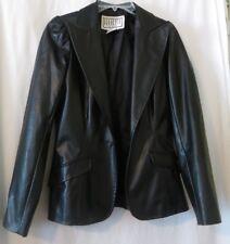 BB DAKOTA (Pret a Porter) Vintage Faux Leather/Pleather Jacket Black Size M