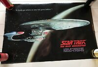 STAR TREK THE NEXT GENERATION USS ENTERPRISE NCC-1701 WALL POSTER 1991, 30 Year