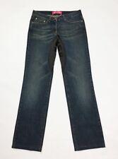 Who*s who one jeans donna usato slim straight gamba dritta W26 tg 40 denim T3801