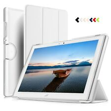 KuGi Acer Iconia Tab 10 B3-A40 case Cover Slim Stand Foldable Protector White