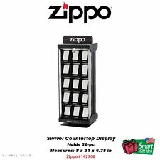 Zippo 30-pc Swivel Countertop Display Case, Lighters Not Included #142708