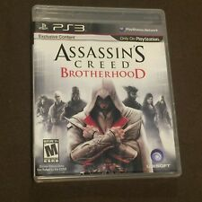 Sony PlayStation PS3 Video Game Assassin's Creed Brotherhood Rated M