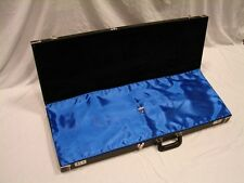 """BLUE """"AxeShield HD"""" Satin Protection Shroud ATTACHES To Fender Strat / Tele Case"""