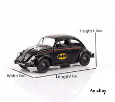 Alloy Diecast Batman Black Beetle Classic Vehicles Car Toy Gift Miniature Model