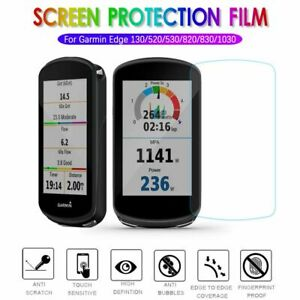 Films Screen Protector Tempered Glass For Garmin Edge 130 520 530 820 830 1030