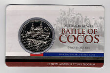2014 RAM 50 cent UNC Coin - Australia at War - Battle of Cocos