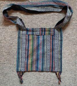Hippy Boho Shoulder Sling Beach Holiday Bag Hippie Gypsy Thai