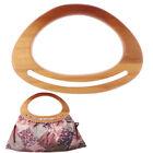 1Pc Wooden Bag Handle Replacement Diy Bag Purse Making Handbag Accessories UTDC