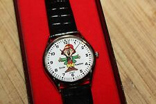 "LeJour ""Ernie Keebler"" watch, new  in box,,runs"