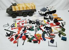 LOT #8 VINTAGE 80'S HASBRO GI JOE PARTS, WEAPONS, & ACCESSORIES LOT