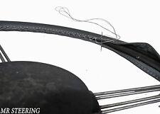 Citroen Ds 1955-1975 real calidad superior gris oscuro Cuero cubierta del volante