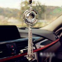 Car Rear View Mirror Pendant Crystal Car Hanging Ornament Car Interior Decor NEW
