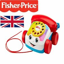 Fisher Price Telephone Pull Along Fun Learning Toy Baby Walker