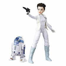 Star Wars C1629ES00 Forces of Destiny Princess Leia Organa & R2-d2 Figure Set 4