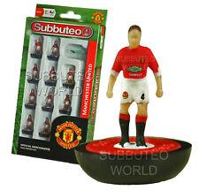 Manchester Utd 1st Subbuteo Equipo. Paul Lamond Metegol. Man Utd Fútbol.