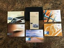 2002 Audi TT Coupe Owners Manual w/ Case & Supplements - #A