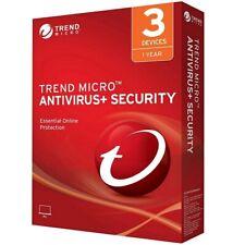TREND MICRO TITANIUM ANTIVIRUS+ SECURITY 2018/2019/2020 - 1YEAR 3PCs(ALL LANG)