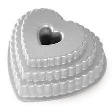Nordic Ware Heart Cake Tins
