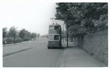 Transport Yorks BRADFORD Trolley Bus #597 Crow Tree Lane 1958 Photo by Packer