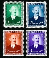 Norway Stamps # 275-8 VF OG LH Set of 4 Scott Value $120.50