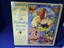 Sunsout #52633:  COUNTRY KITTENS, Family Jigsaw Puzzle 625+ pieces
