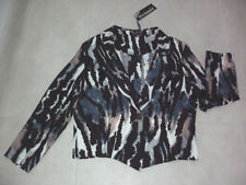 Polyester Animal Print All Seasons Coats & Jackets for Women