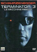 TERMINATOR 3 - LE MACCHINE RIBELLI - 2 DVD (NUOVO SIGILLATO)