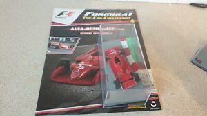 PANINI  F1 COLLECTION - ALFA ROMEO 177 - B GIACOMELLI - 1/43 scale model car 35