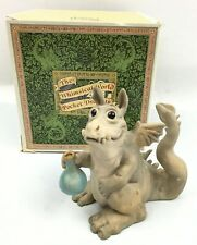 """""""Toady Goldtrayler"""" Whimsical World of Pocket Dragons Real Musgrave 1989"""