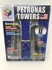 Magic Puzzle PETRONAS TOWER 3D EDUCATIONAL PUZZLE • 130 Pieces • Brand new!