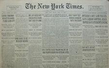 4-1930 April 25 GANDHI SALT RIOTS PESHAWUR PUNJAB. ROME SEE MUSSOLINI WEDDING.