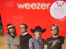 WEEZER RED ALBUM  2008 INTERSCOPE RECORDS LIMITED EDITION RED VINYL LP W/STICKER