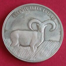 More details for turkey 2005 anatolin mouflon silver proof 20 new lira